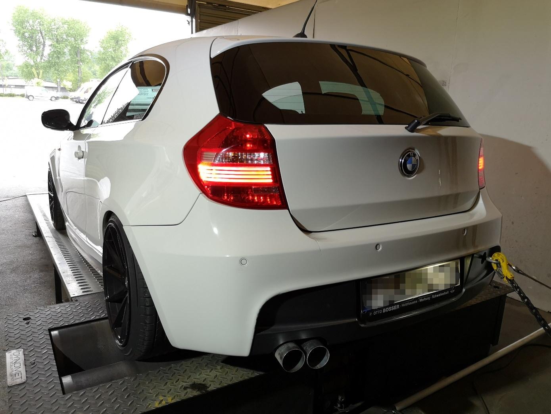 BMW E81 120D 177KM >> 224KM 494Nm
