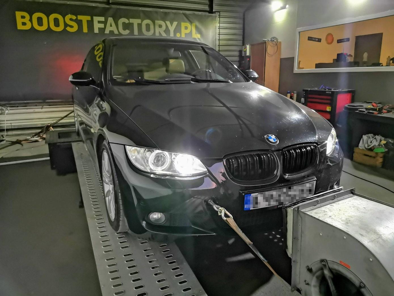 BMW E92 335D 286KM >> 372KM 824Nm