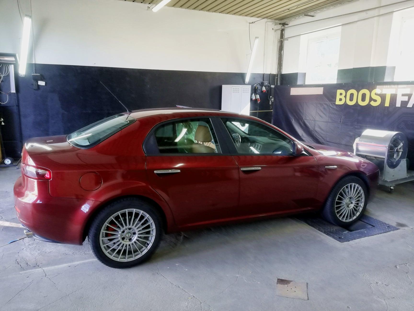 Alfa Romeo 159 2.4Jtdm 200KM >> 245KM 524Nm