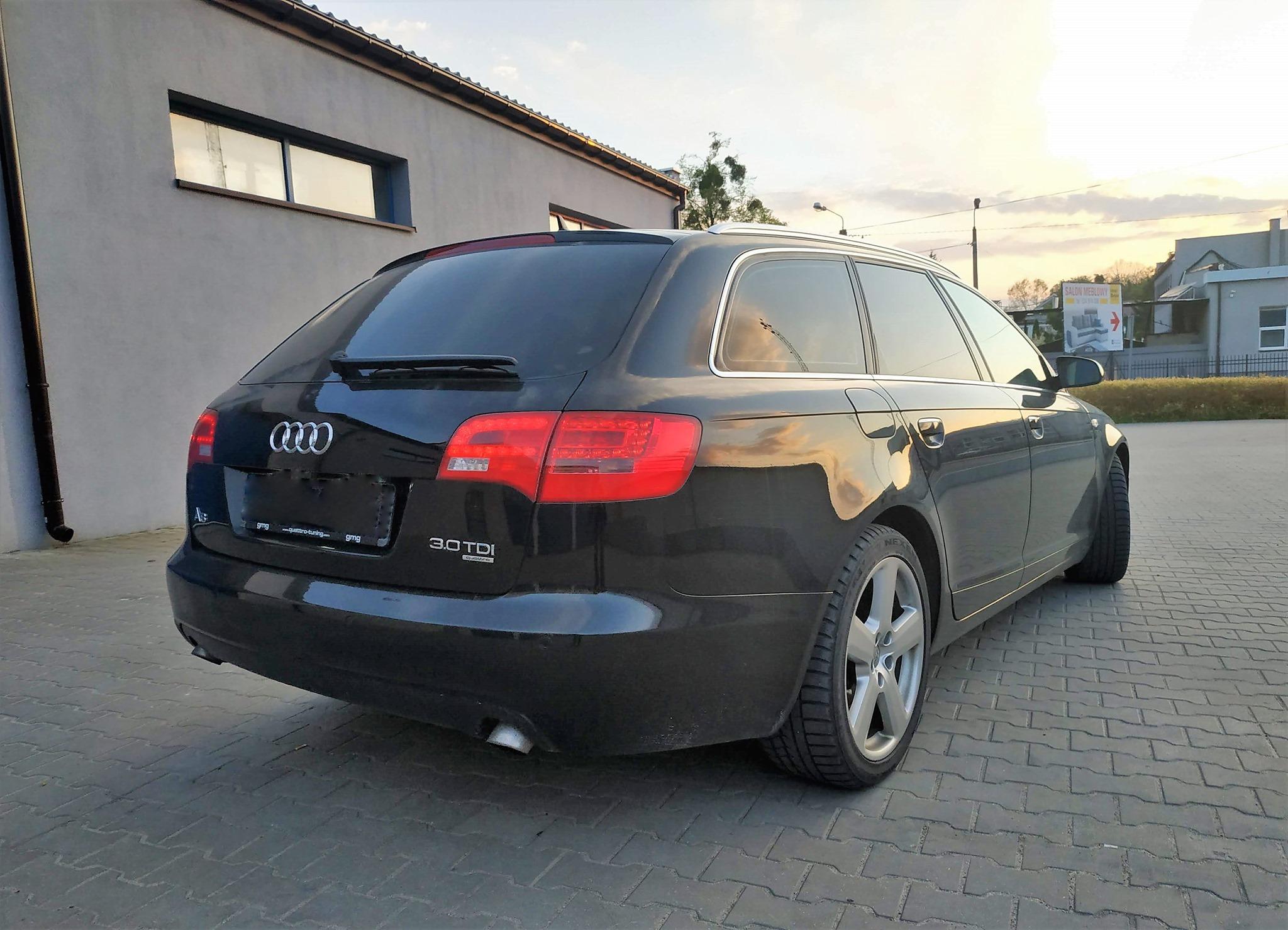 Audi A6 C6 3.0TDI 233KM >> 281KM 628Nm