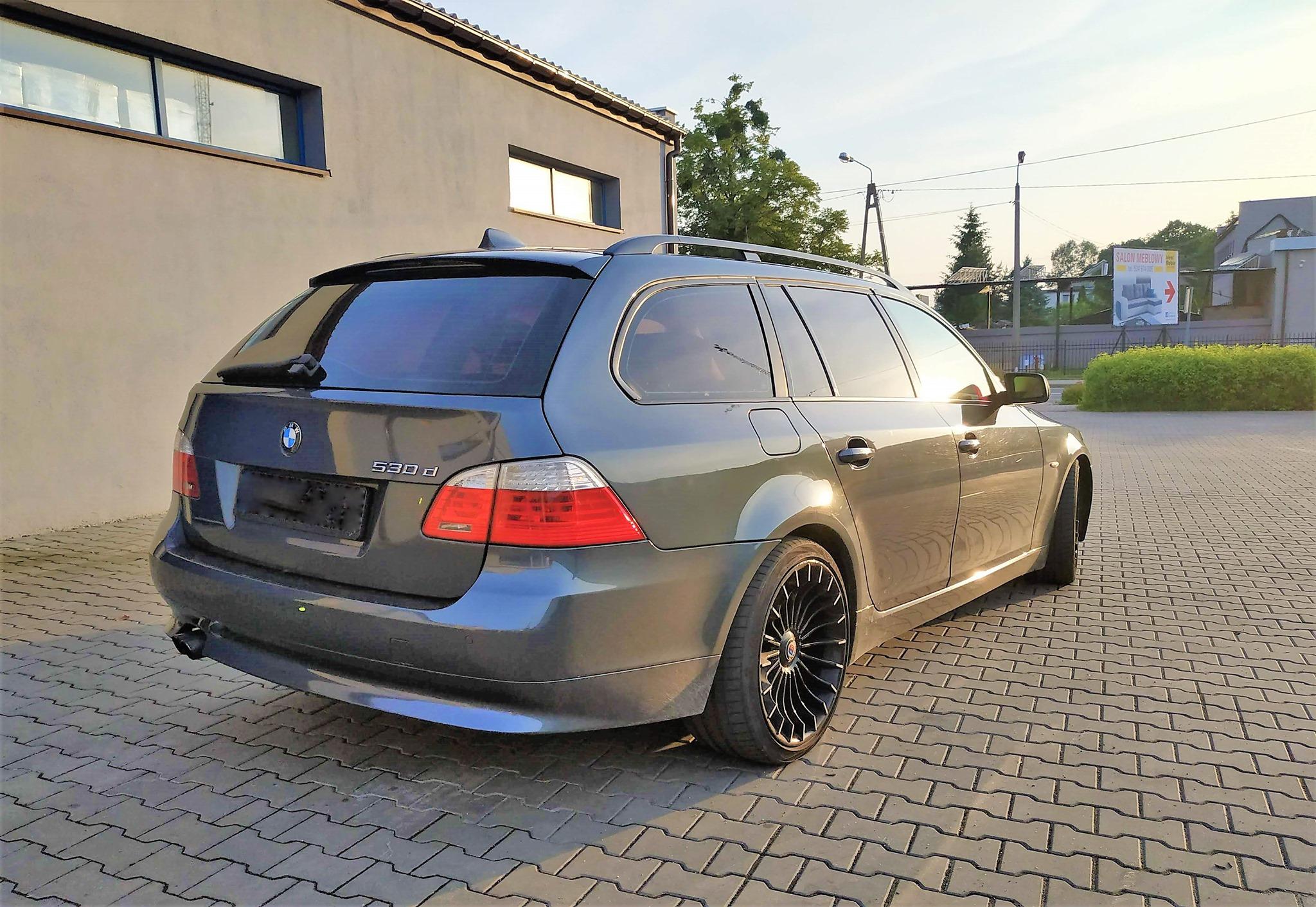 BMW E61 530D 235KM >> 354KM 774Nm
