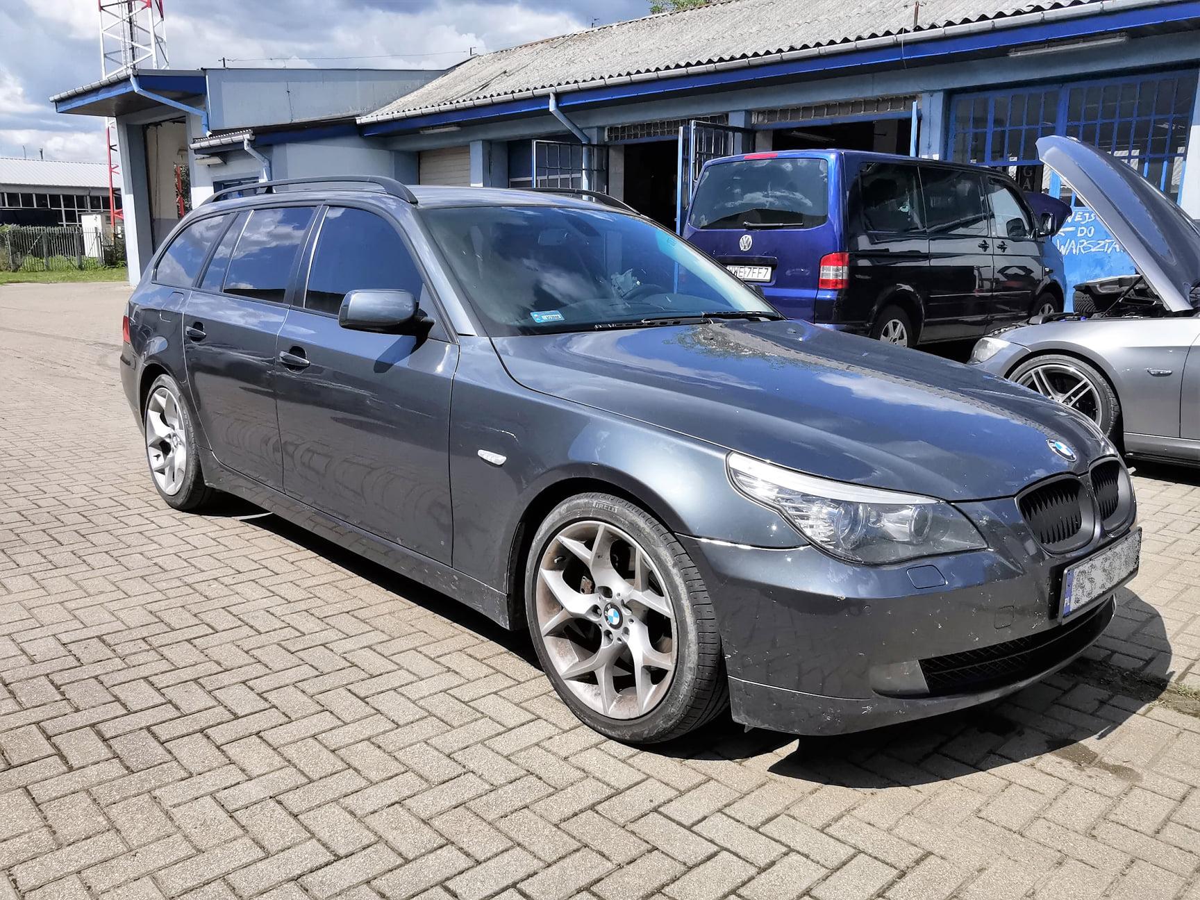 BMW E61 530XD 235KM >> 334KM 704Nm