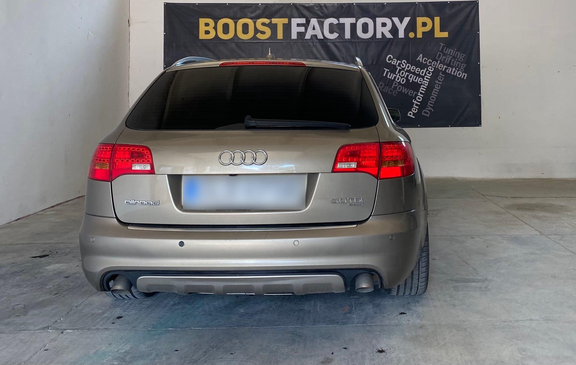 Audi A6 C6 3.0TDI 233KM >> 276KM 596Nm