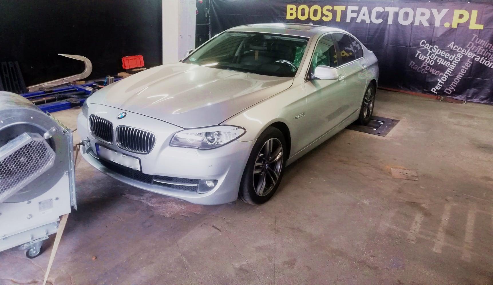 BMW F10 520D 184KM >> 221KM 467Nm