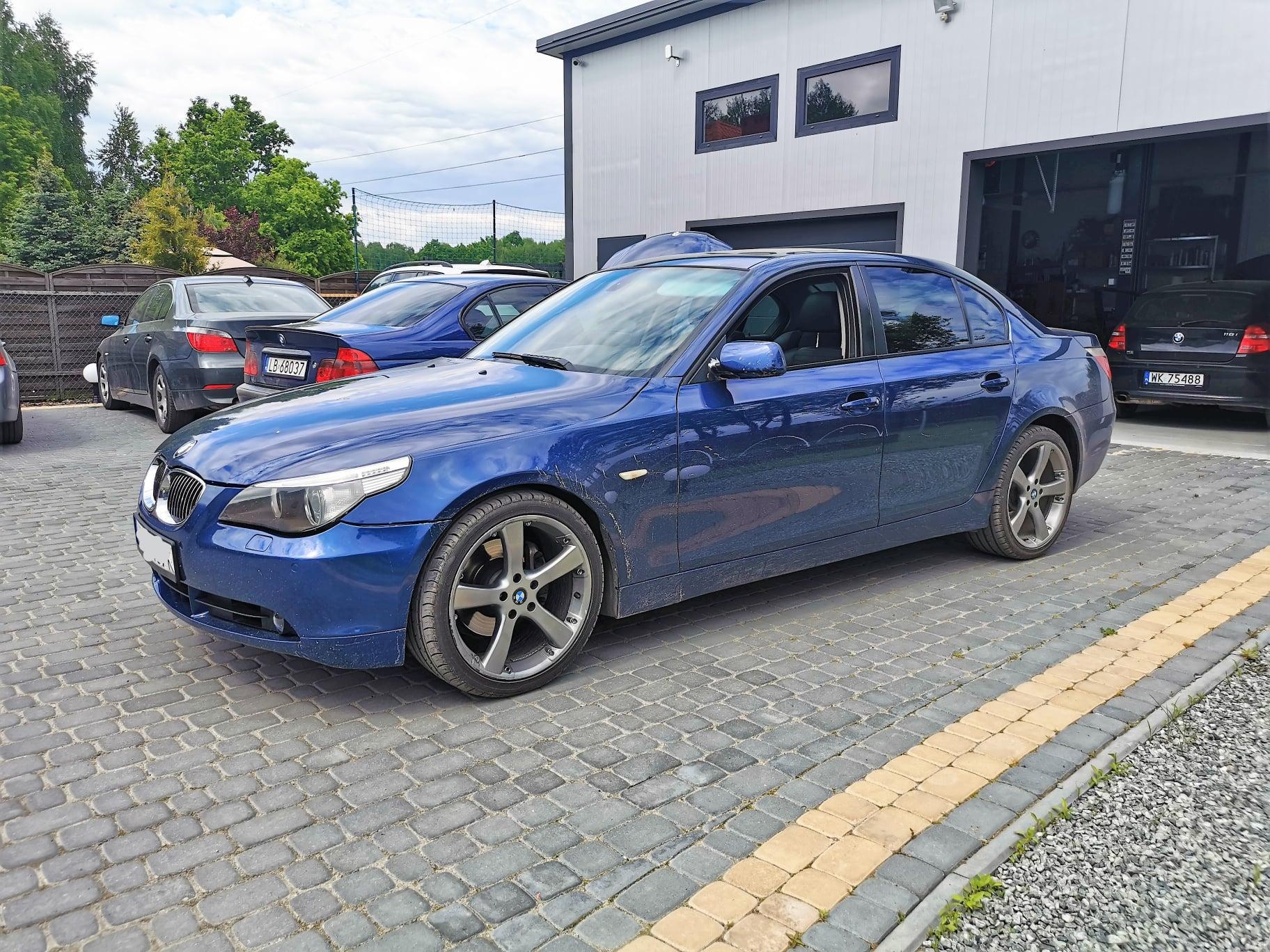BMW E60 525D 197KM >> 330KM 711Nm