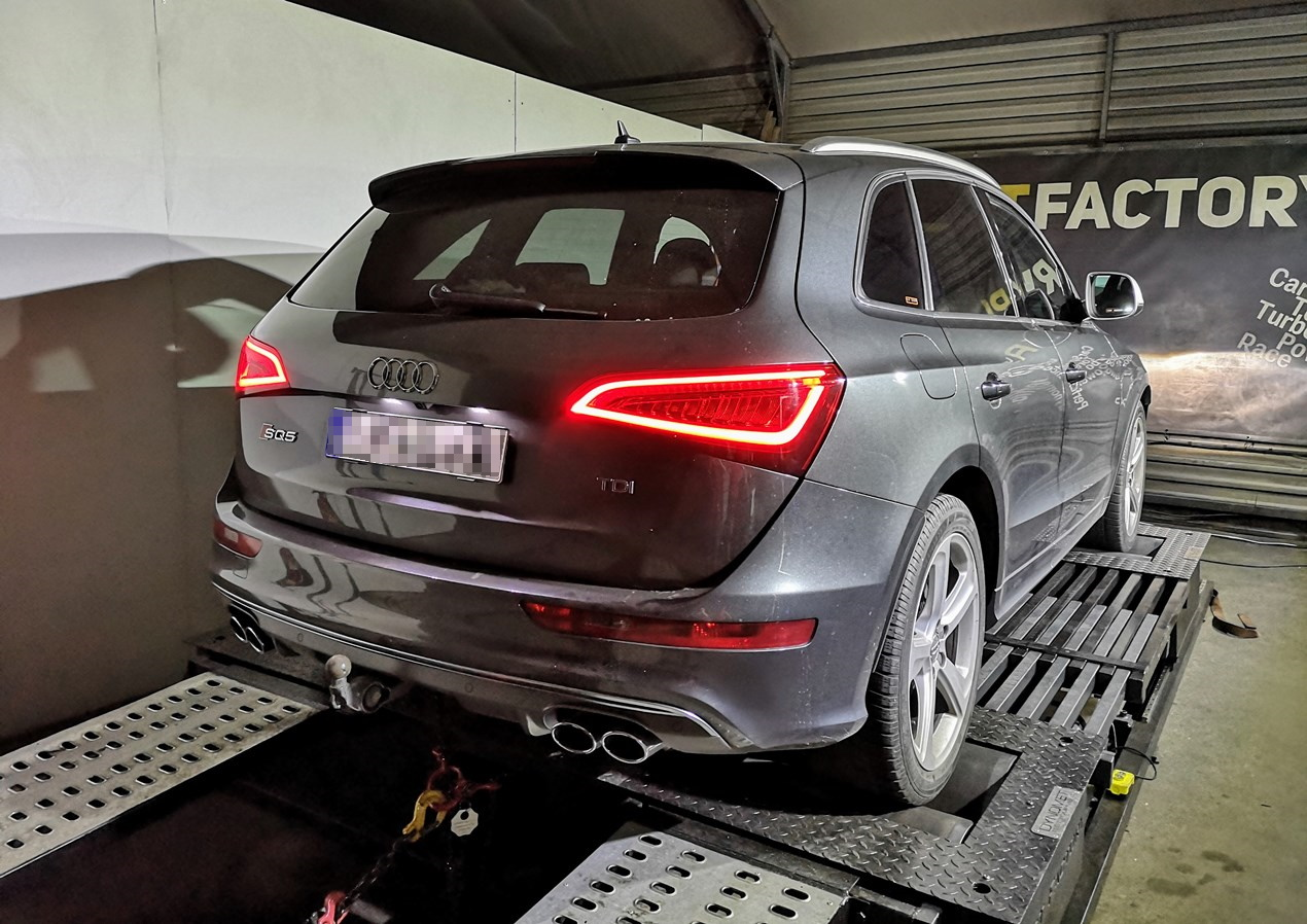 Audi SQ5 3.0BiTDI 313KM >> 350KM 778Nm