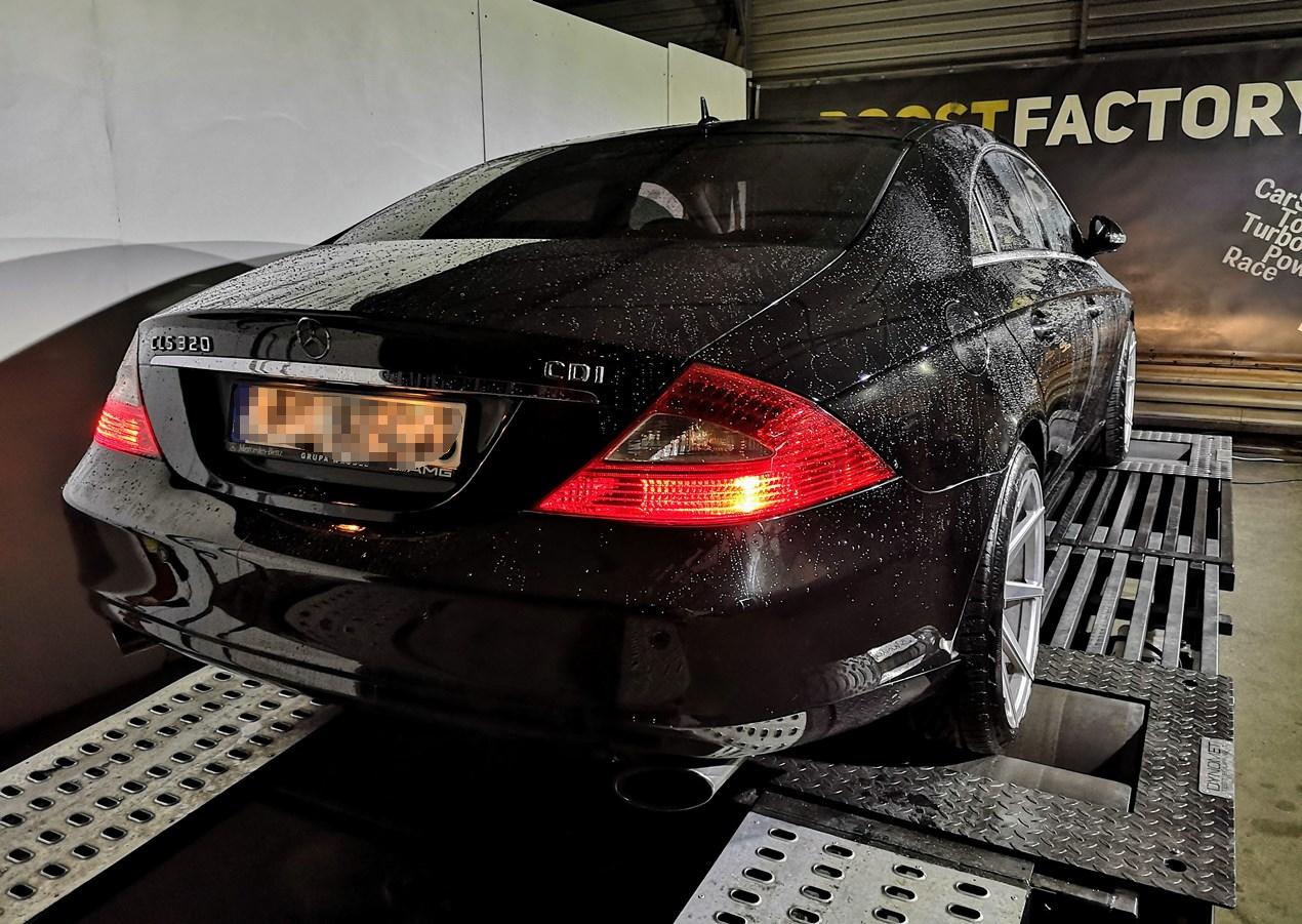 Mercedes CLS C219 350CDI 224KM >> 265KM 630Nm