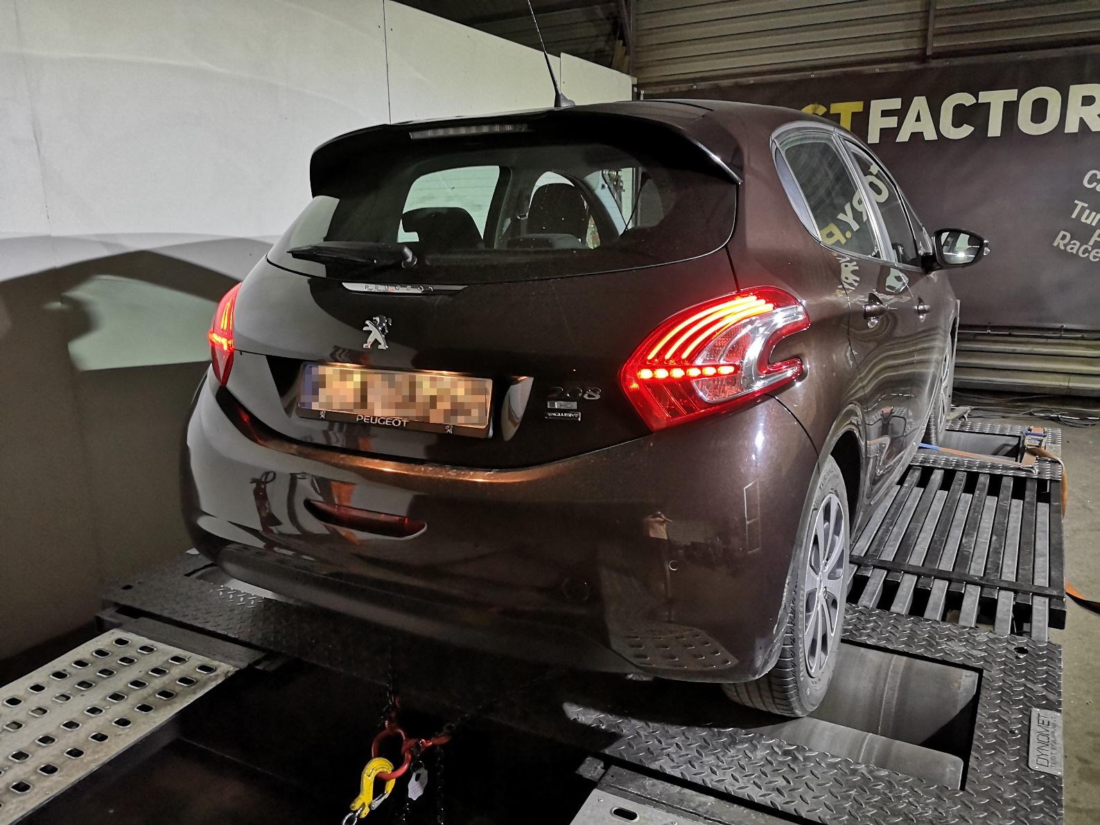 Peugeot 208 1.4HDI 68KM >> 109KM 234Nm