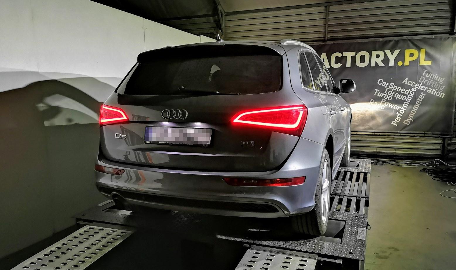 Audi Q5 2.0TDI CGLC 177KM >> 215KM 440Nm
