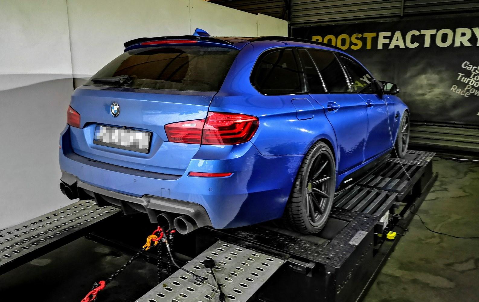 BMW F11 530D 258KM >> 363KM 764Nm