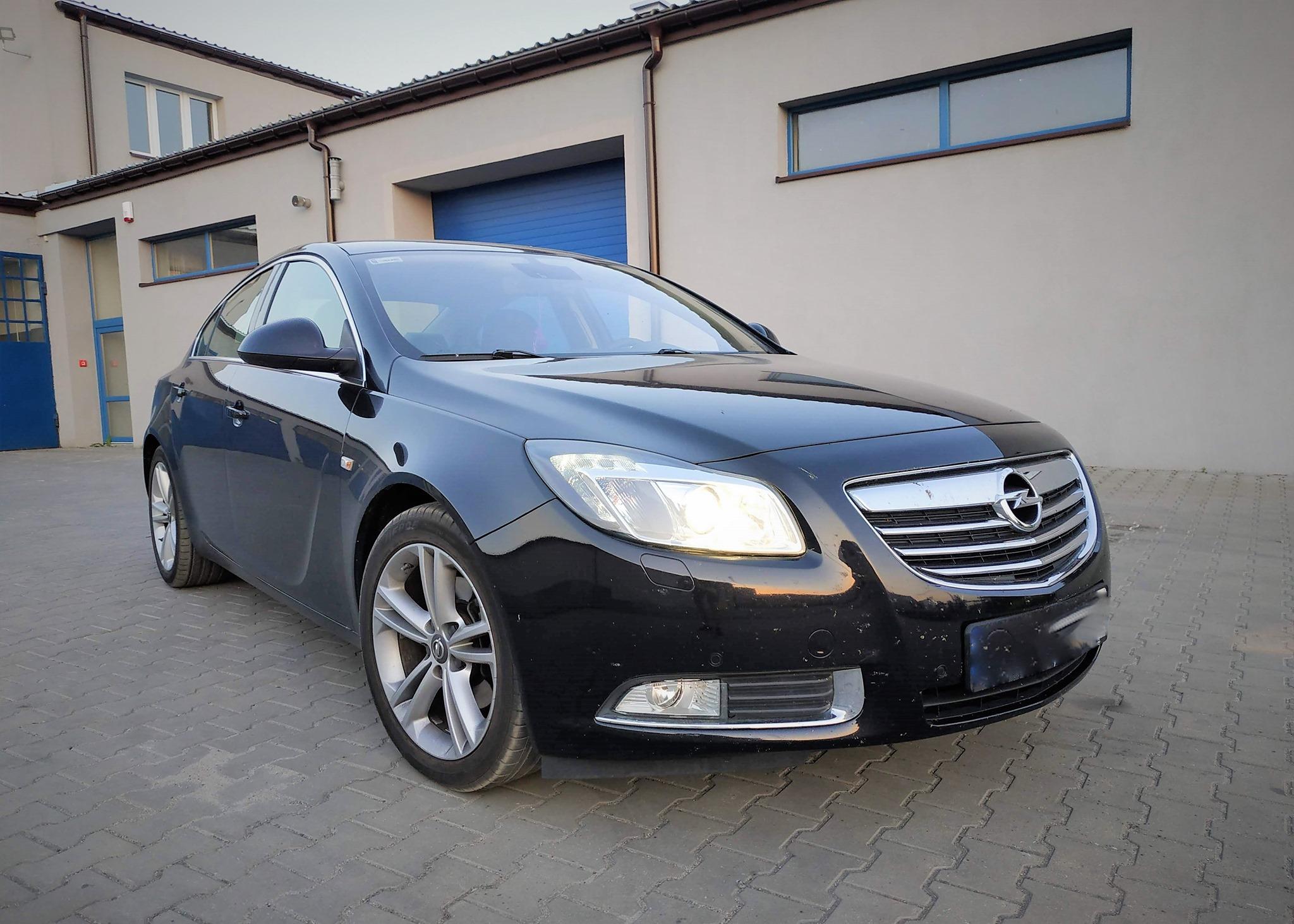 Opel Insignia 2.0T 220KM >> 264KM 423Nm