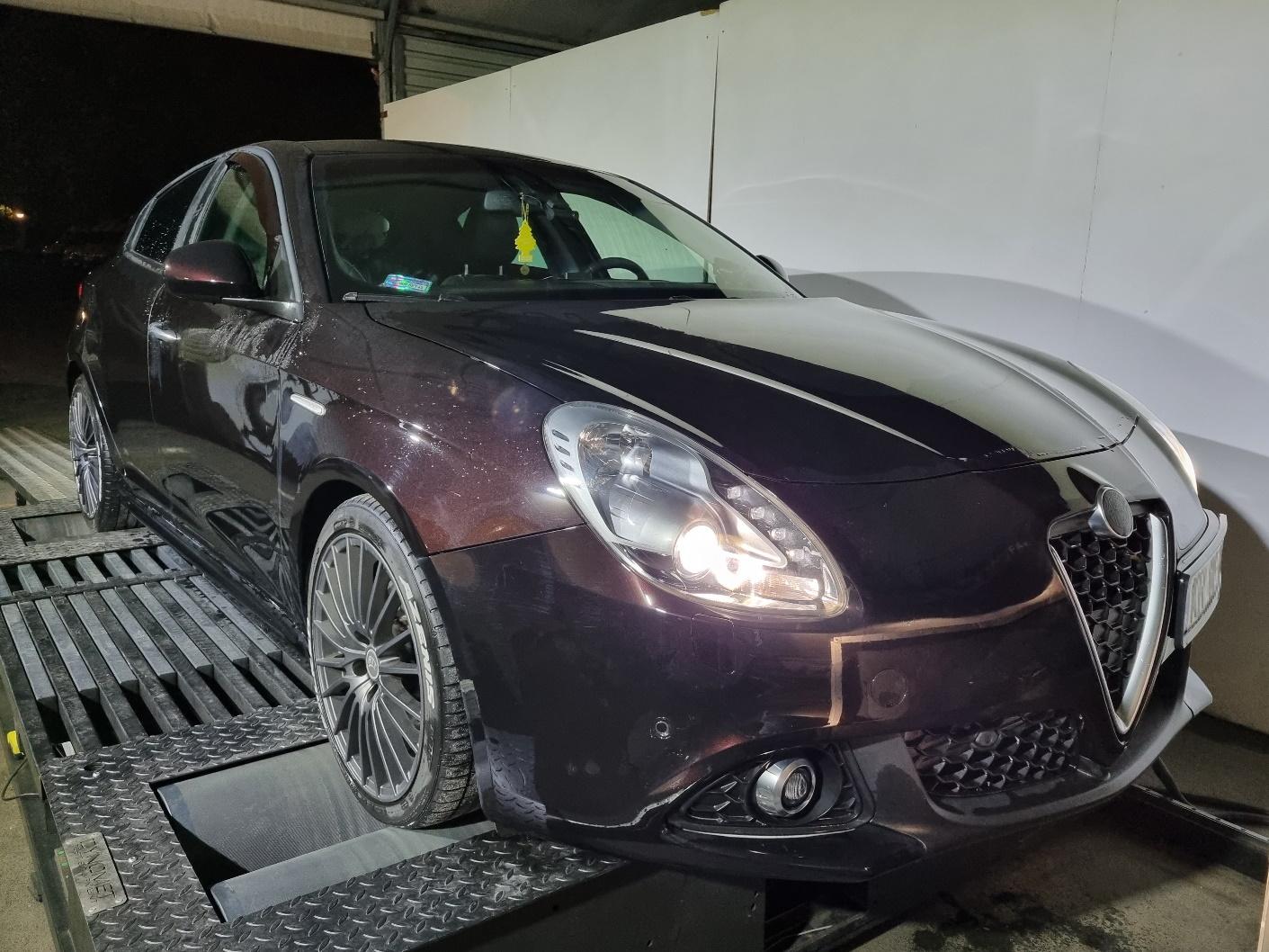 Alfa Romeo Giulietta 1.4 Multiair Stage3 >> 339KM 376Nm