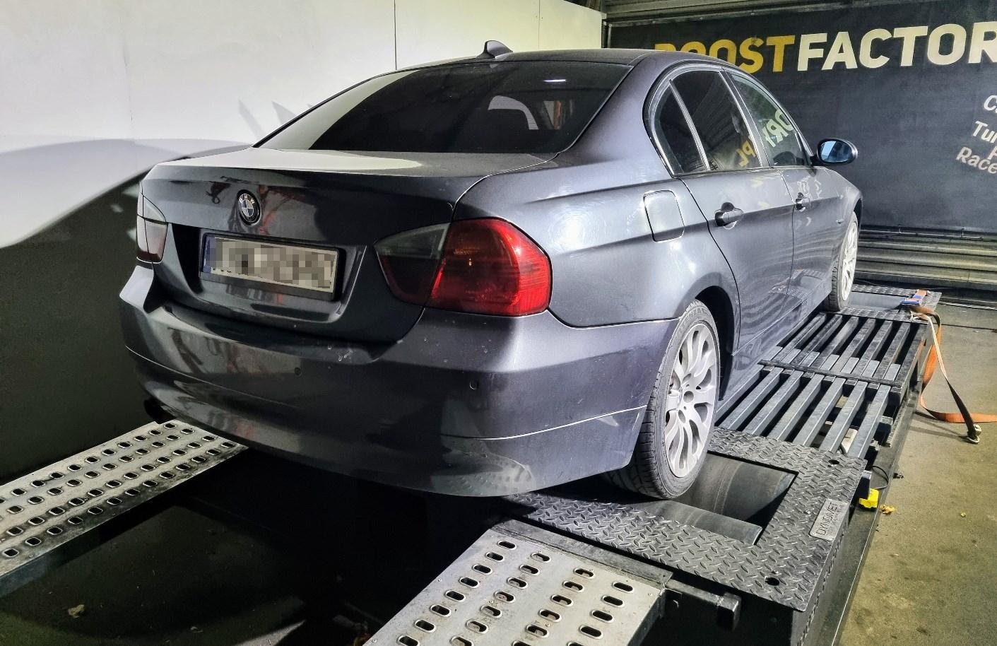 BMW E90 325D 197KM >> 265KM 578Nm