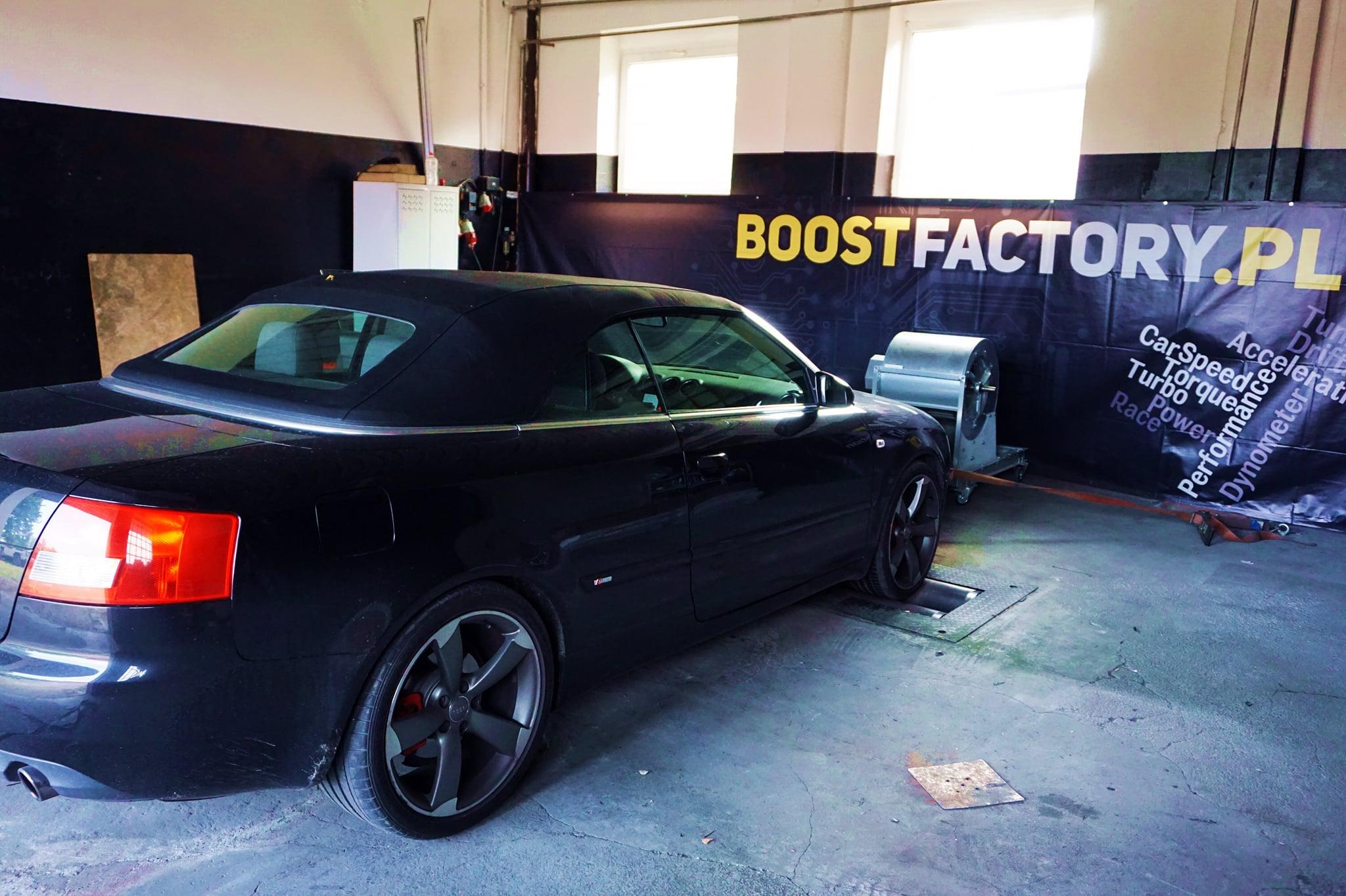 Audi A4 B6 1.8T 163KM >> 223KM 327Nm