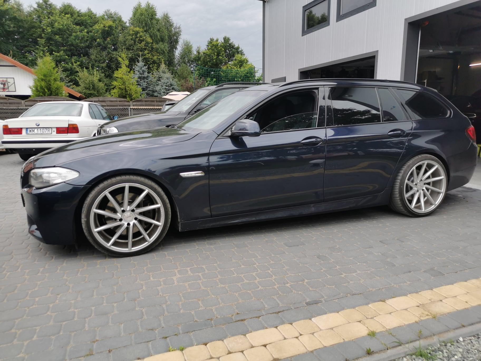 BMW F11 530D 245KM >> 322KM 677Nm