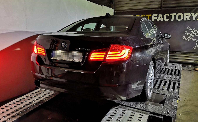 BMW F10 520D 184KM >> 225.5KM 479Nm
